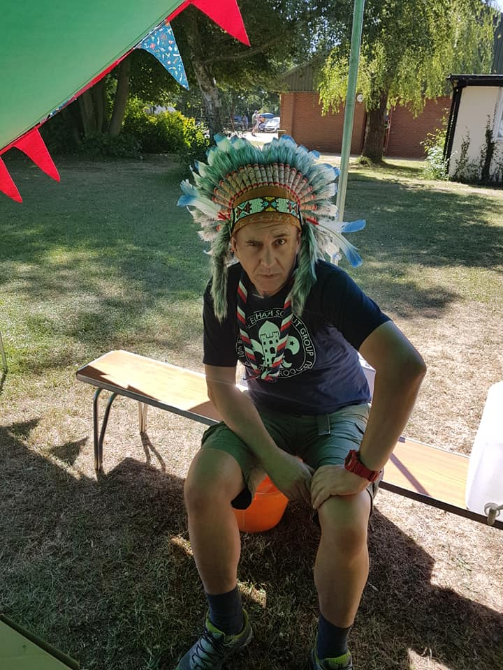 Beavers Damboree Native American Camp 2018 at Hope Hill Scout Camp