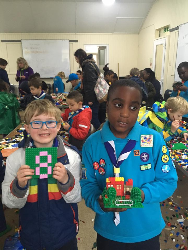 Beavers Lego Day – April 2019