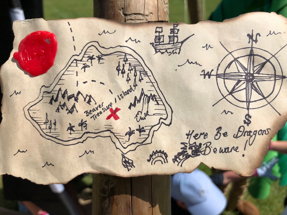 Beaver Pirate Camp, Hope Hill – June 2019